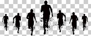 Hyderabad Marathon Running Sport Silhouette PNG