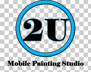 2U Mobile Painting Studio Logo Canvas Party PNG