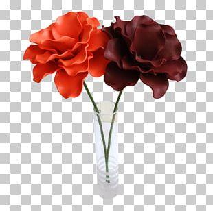 Garden Roses Cut Flowers Floral Design Artificial Flower PNG