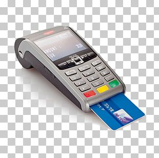 Payment Terminal Point Of Sale Ingenico EMV Credit Card PNG