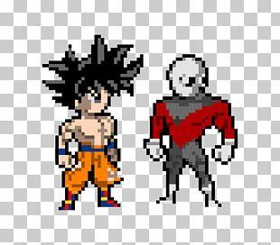 Goku Vegeta Pixel Art Png Clipart Art Cartoon Computer