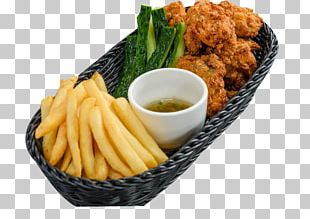 French Fries Chicken Nugget Karaage Chicken Fingers Junk Food PNG