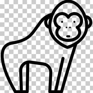 Gorilla Ape Computer Icons PNG