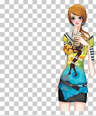 Drawing Girl Woman Illustration PNG