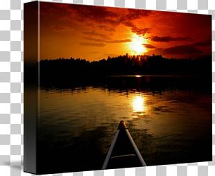 Ely Boundary Waters Gallery Wrap Canvas Art PNG