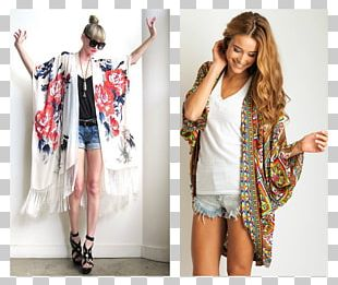 T-shirt Kimono Clothing Boho-chic Fashion PNG