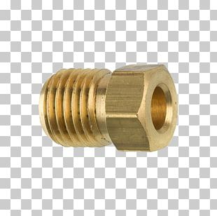 Brass Tube Piping And Plumbing Fitting Nut Pipe PNG