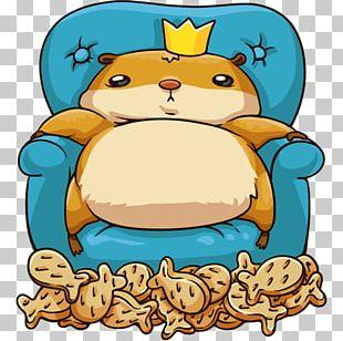 Sticker Telegram VKontakte Hamster PNG