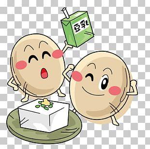 Soy Milk Soybean Cartoon PNG
