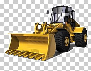 Excavator Caterpillar Inc. Architectural Engineering Heavy Machinery Forklift PNG