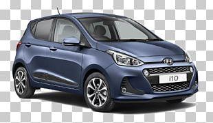 Hyundai I10 City Car Hyundai Motor Company PNG