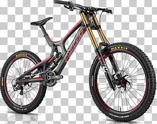 Downhill Mountain Biking Santa Cruz Bicycles Mountain Bike Downhill Bike PNG