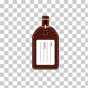 Suitcase Baggage Bag Tag PNG