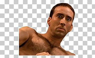 Nicolas Cage Scared PNG
