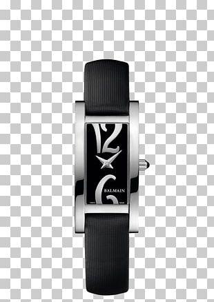 Watch Quartz Clock Balmain Tissot PNG