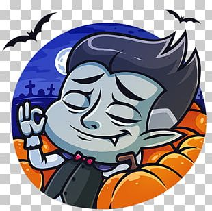 Count Dracula VKontakte Sticker Telegram PNG