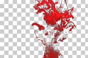 Red Smoke Color Haze PNG