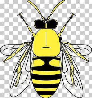 Honey Bee Heraldry Pollen PNG