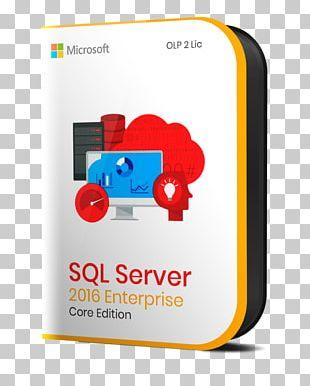 Microsoft SQL Server Client Access License Computer Servers PNG