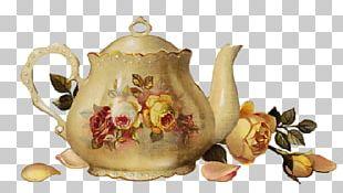 Teacup Coffee Flower Floral Design PNG