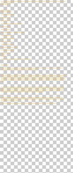 Paper Yellow Area PNG