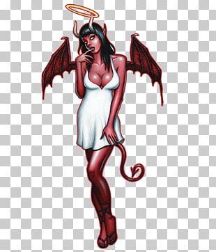 Demon Pin-up Girl Devil Art Angel PNG