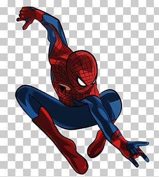 Spider-Man Superhero Animation PNG