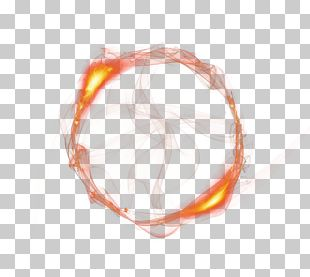Light Fire Flame Circle PNG