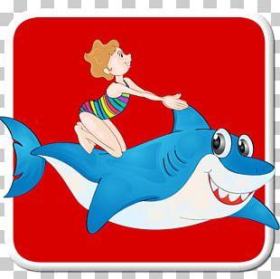 Swimming Fish Game Character Cartoon PNG