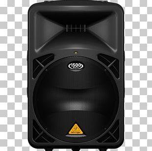 Behringer Eurolive B-D Series 1500W Powered Speakers Loudspeaker Public Address Systems PNG
