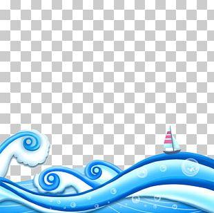 Wind Wave Cartoon Speech Balloon PNG