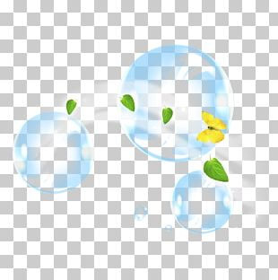 Drop Bubble Illustration PNG
