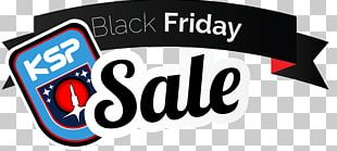 Black Friday Discounts And Allowances Sales Banner PNG