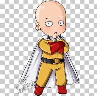 One Punch Man Chibi Saitama Anime Manga PNG