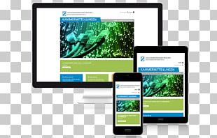 Smartphone Responsive Web Design Home Page Multimedia PNG