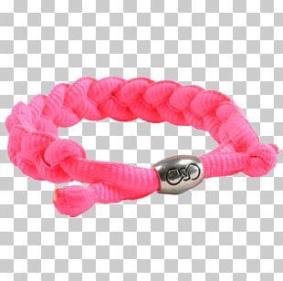 Bracelet Hair Tie Pink M Body Jewellery PNG