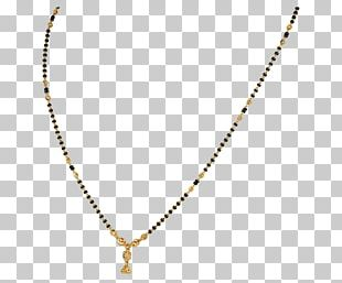 Necklace Mangala Sutra Jewellery Chain Gold PNG