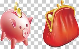 Piggy Bank Money Illustration PNG