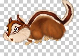 Squirrel Chipmunk Whiskers PNG