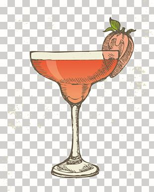 Cocktail Margarita Iced Tea Drawing PNG