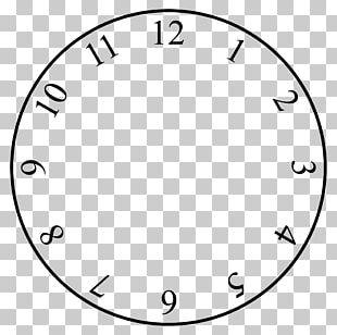 Fried Egg Clock Face Digital Clock PNG