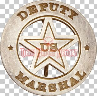 American Frontier United States Marshals Service Western United States California Badge PNG
