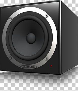 Subwoofer Studio Monitor Computer Speakers Sound Behringer Behritone C50a PNG