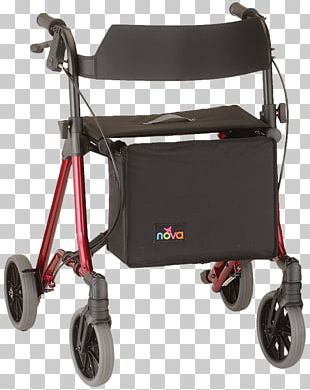 Walker Rollaattori Medical Device Mobility Aid Wheel PNG