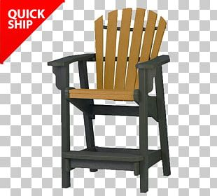 Table Adirondack Chair Garden Furniture Plastic Lumber PNG