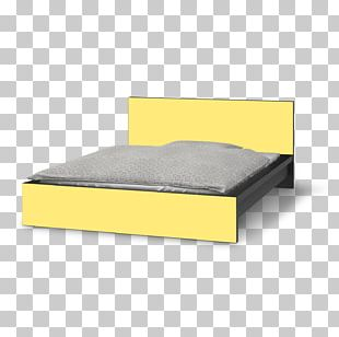 Bed Frame Box-spring Mattress Product PNG