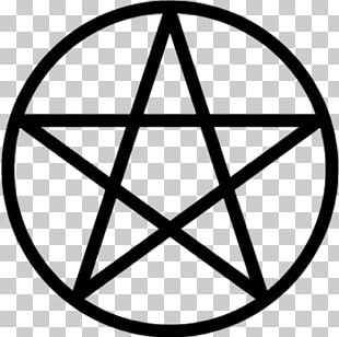 Pentagram Pentacle Wicca Witchcraft Modern Paganism PNG