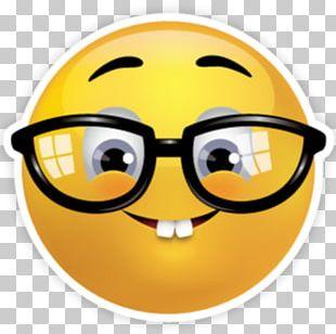 Emoji Nerd Emoticon Smiley Geek PNG