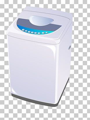 Washing Machine Clothes Iron Laundry Home Appliance PNG