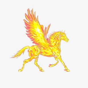 Fire Horse PNG